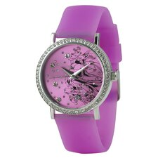 Women's Love Bird Watch in Pink