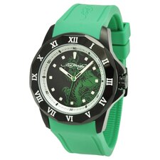 Men's Roman Watch in Green