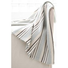 Vanilla Woven Cotton Throw