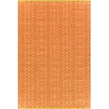 Fair Isle Paprika/Curry Geometric Rug