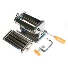 Steel Pasta Machine in Chrome
