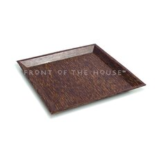 Palm Square Wood Plate
