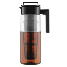 64 Oz Iced Tea Maker (Airtight Pitcher with Removable Tea Infuser)