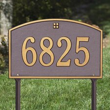 Cape Charles Standard Address Sign