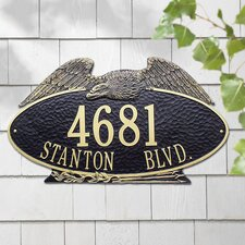 Eagle Estate Address Plaque