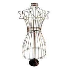 Wire Dress Form in Multicolor