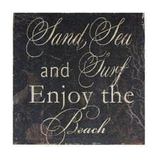 Sand, Sea, Surf Wall Decor