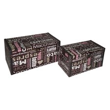 Coffee Treasure Box (Set of 2)