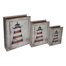 Lighthouse Book Box (Set of 3)