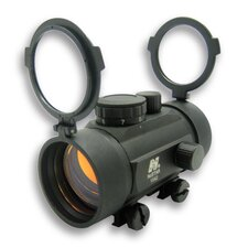 1x42 B-Style Red Dot Sight with Weaver Base in Black