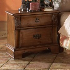 Bella 2 Drawer Nightstand