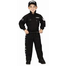 Jr. S.W.A.T with Cap Costume
