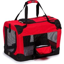 Deluxe 360° Vista View Pet Carrier in Red