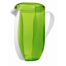 Happy Hour Two Toned Pitcher in Green