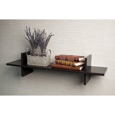 "Decorative ""H"" Shaped Wall Shelf"