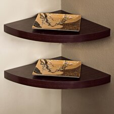 Corner Radial Shelf (Set of 2)