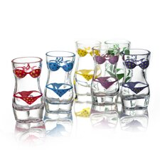 Lady Torso Bikini Shot Glass (Set of 6)