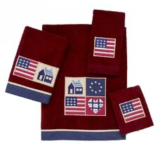 American Quilt 4 Piece Towel Set