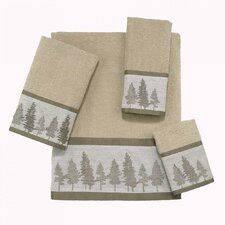 Whispering Pines 4 Piece Towel Set