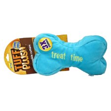 Tuff Plush Cookie Cutters Bone Dog Toy