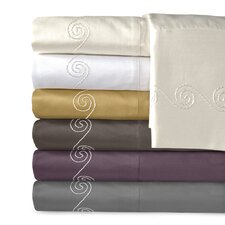 Supreme Sateen 800 Thread Count Swirl Sheet Set