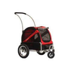 Mini Dog Stroller in Urban Red