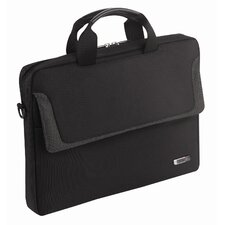 "Sterling 14.1"" Laptop Slim Briefcase in Black"