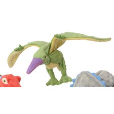 Dinos Terry the Flying Terradactyl Dog Toy with Chew Guard