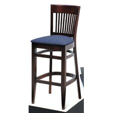 "Melissa Slat Back Wood Barstool (24"" - 31.5"" Seats)"