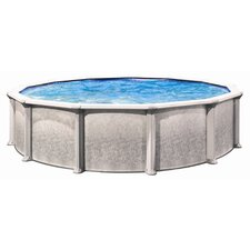 "Aqua Deluxe 52"" Depth Round Above Ground Pool"