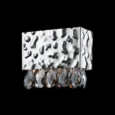 Martellato One Light Rectangular Wall Sconce in Nickel