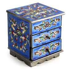 Jewelry Box in Celestial Blue