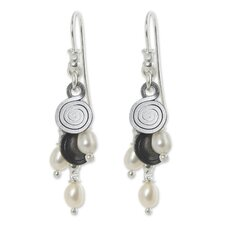 The Roberto Salvato Cultured Pearl Waterfall Earrings