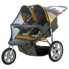Accessory Double Swivel Wheel Stroller Bug Cover