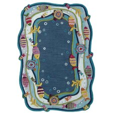 Kinder Under the Ocean Kids Rug