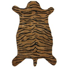 Safari Tiger Brown Rug