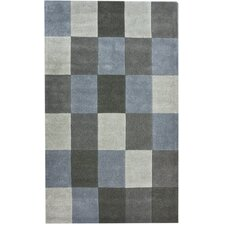 Bella Cubes Grey Rug