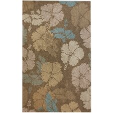 Veranda Swerve Brown Rug