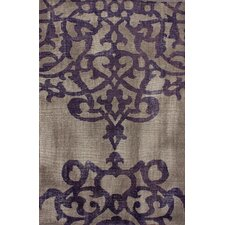Ayers Cement Damask Rug