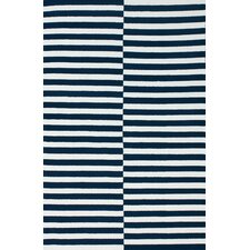 Brilliance Navy Stitch Rug