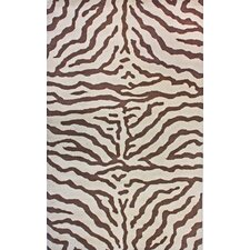 Earth Plush Zebra Rug