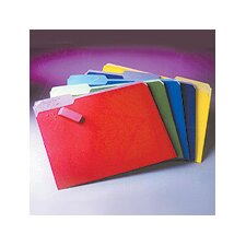 File Folders, Erasable Tabs, 30/Pack