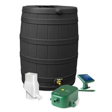 Rain Wizard 50 Gallon Rain Barrel Set