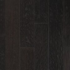 "Rio Handscraped 4-9/10"" Engineered Oak Flooring in Espresso Bin"