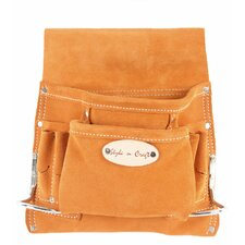 Eight Pocket Nail and Tool Pouch