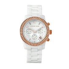 Women's Classic White Ceramic Watch