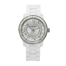 Women's Baguette Crystal Watch