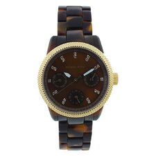 Women's Ritz Watch with Brown Dial