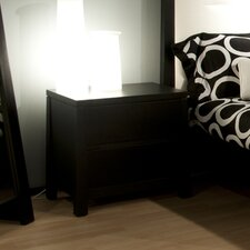 Del Mar 2 Drawers Nightstand