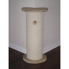 "29"" Corner Cat Tree/Scratcher in Beige"